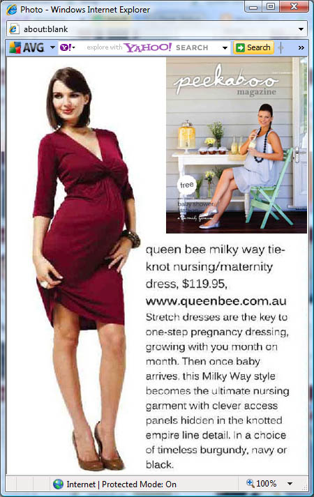 Milky Way Maternity and Nursing Breastfeeding Wear